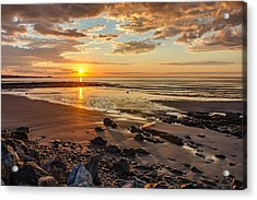 Sunrise At Long Sands Acrylic Print