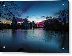 Sunrise At Lou Neff Point Acrylic Print