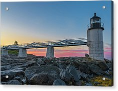 Sunrise At Marshall Point Acrylic Print