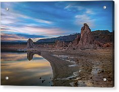 Sunrise At Mono Lake Acrylic Print by Ralph Vazquez