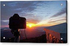 Sunrise At Mount Mitchell Acrylic Print