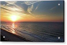 Sunrise At North  Myrtle Beach Acrylic Print