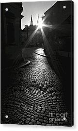 Sunrise At Prague Acrylic Print by Hideaki Sakurai