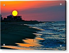Sunrise At St. George Island Florida Acrylic Print