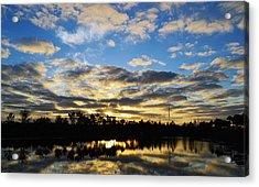 Sunrise At The Summit Acrylic Print by Melanie Moraga