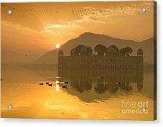 Acrylic Print featuring the photograph Sunrise At Water Palace by Yew Kwang