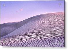 Sunrise At White Sands Acrylic Print