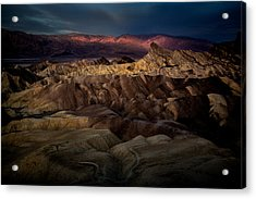 Sunrise At Zabiskie Point Acrylic Print