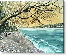 Sunrise Beach Acrylic Print
