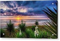 Sunrise Blooms Acrylic Print
