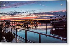 Sunrise Christmas Morning Acrylic Print