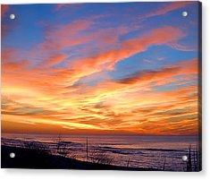 Sunrise Dune I I I Acrylic Print