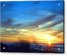 Sunrise Dune I I Acrylic Print
