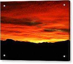 Sunrise Acrylic Print by Eric De La Fuente