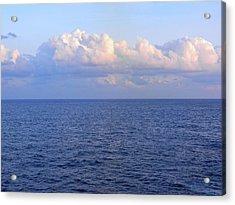 Sunrise From The Atlantic Ocean Acrylic Print