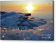 Sunrise Gems Acrylic Print