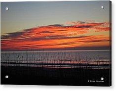 Sunrise Acrylic Print by Gordon Mooneyhan