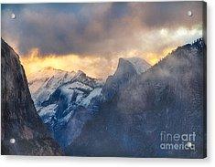 Sunrise Half Dome Acrylic Print