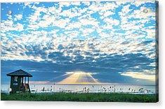 Sunrise Hope Delray Beach Florida Acrylic Print