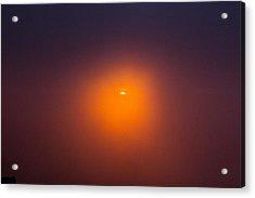 Sunrise In A Cloud Acrylic Print