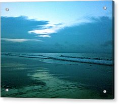 Sunrise In Blue Acrylic Print