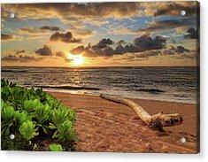 Sunrise In Kapaa Acrylic Print