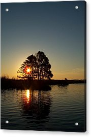 Sunrise In Moyock Nc Acrylic Print