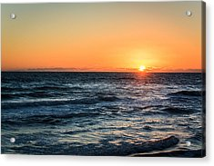 Sunrise In Nags Head Acrylic Print
