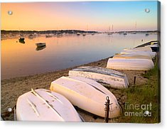 Sunrise In Osterville Cape Cod Massachusetts Acrylic Print