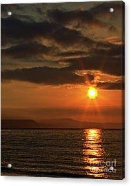 Acrylic Print featuring the photograph Sunrise In Portland by Baggieoldboy