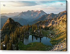 Sunrise In The Wasatch Acrylic Print