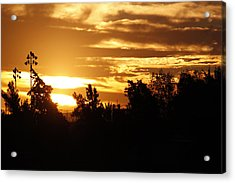 Sunrise Acrylic Print by Ivete Basso Photography