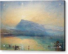 Sunrise Acrylic Print by Joseph Mallord William Turner