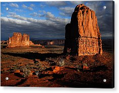 Sunrise La Sal Mountains Acrylic Print