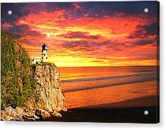 Sunrise Lighthouse Acrylic Print