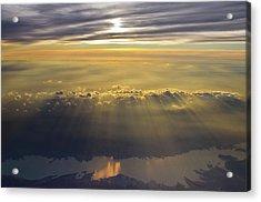 Sunrise From 30,000 Feet Acrylic Print