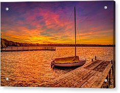 Sunrise Minneapolis Acrylic Print