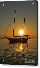 Acrylic Print featuring the photograph Sunrise by Nicola Fiscarelli