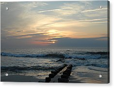 Sunrise Ocean 50 Acrylic Print by Joyce StJames