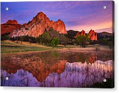 Sunrise Of The Gods Acrylic Print