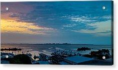 Sunrise On Biscayne Bay Acrylic Print