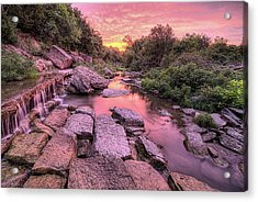 Acrylic Print featuring the photograph Sunrise On Deep Creek by JC Findley