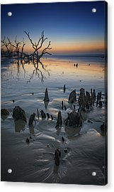Sunrise On Edisto Island Acrylic Print