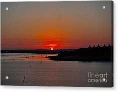 Sunrise On Lake Ray Hubbard Acrylic Print