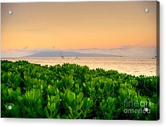 Acrylic Print featuring the photograph Sunrise On Maui by Kelly Wade