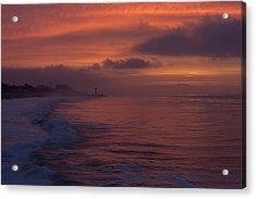Sunrise On Monterey Bay Acrylic Print