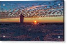 Sunrise On The Brocken, Harz Acrylic Print