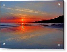 Sunrise On The Coast Acrylic Print by Roy McPeak