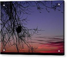 Sunrise On The Colorado Plains Acrylic Print