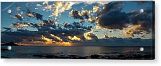 Sunrise On The French Riviera Acrylic Print